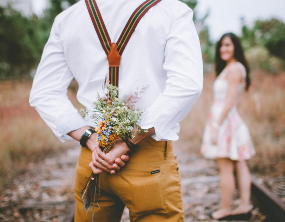 Blumengeschenk für Paare